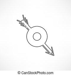 arrow target