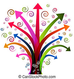 Arrow Tree Plant
