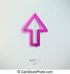 Arrow up.