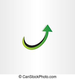 arrow up growing icon
