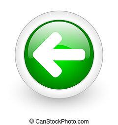 arrow web button