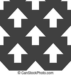 arrow web icon. flat design. Seamless pattern.
