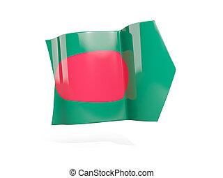 Arrow with flag of bangladesh