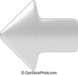 arrow., zilver