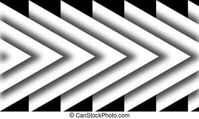Arrows background. Technology backdrop