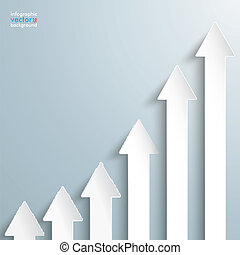 Arrows Chart Growth