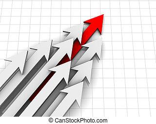 Arrows diagram