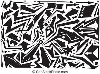 arrows doodles