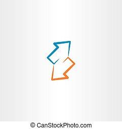 arrows illustration symbol icon design