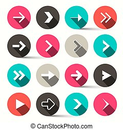 Arrows in Circles