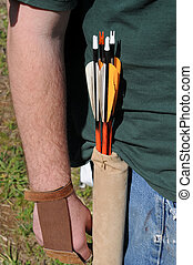 Arrows in Pouch