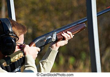 Arrows in the firing range