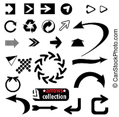 arrows set - many different arrows a great design template