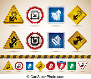 Arrows signs