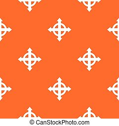 Arrows target pattern seamless
