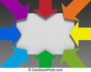 Arrows template