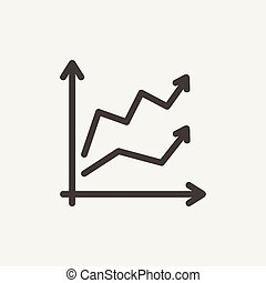 Arrows thin line icon - Arrows icon thin line for web and...