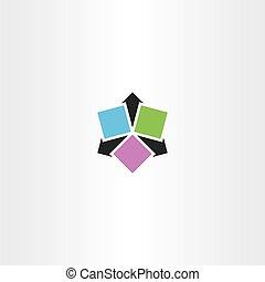 arrows vector icon symbol logo sign