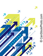 arrows, vector - blue arrow design, vector