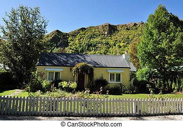 Arrowtown, New Zealand - Arrowtown in south New Zealand. ...