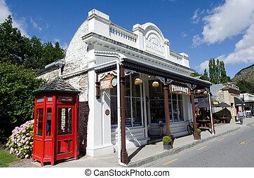 arrowtown, nova zelândia, -