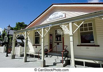 arrowtown, nueva zelandia, -