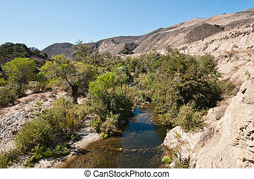 Arroyo Seco River near Greenfield, California