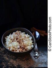 arroz de pudín
