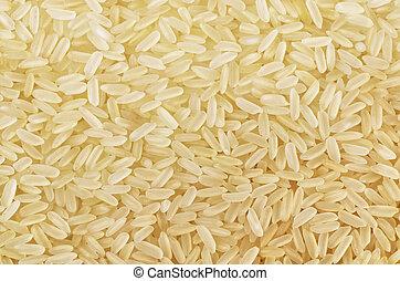 arroz, grão, longo