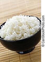 arroz, tigela