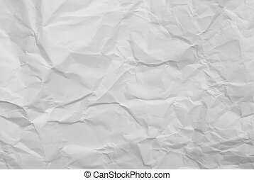 arrugado, papel, plano de fondo