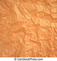 arrugado, papel