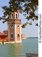 Arsenal in Venice - Old arsenal buildings in Venice city, ...
