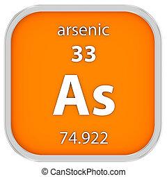 arsenic, material, sinal