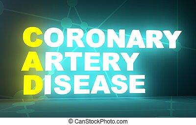 artéria, betegség, koszorúszerű