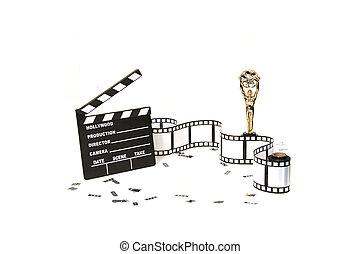 artículos, estudio cinematográfico, plano de fondo,...