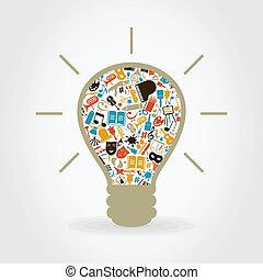 Art a bulb