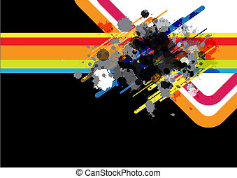 art abstract background design