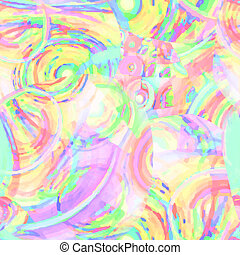 art abstract colorful rainbow pattern background