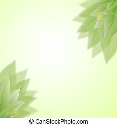 art abstract natural backgrounds with fresh foliage