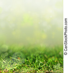 art abstract spring background