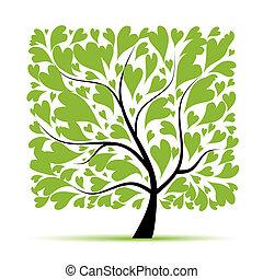 art, arbre, beau, pour, ton, conception