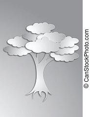 art, arbre