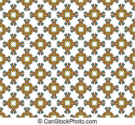 abstract cross textile pattern