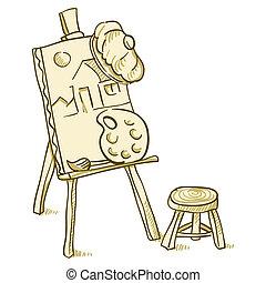 Art Board Illustration