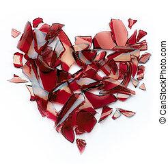 broken heart - art broken heart