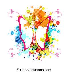 art butterfly design