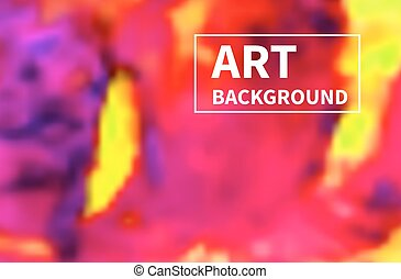 Art chaotic colorful background