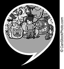 Art characters