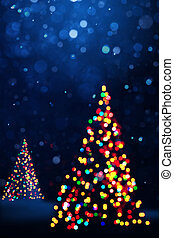 Art Christmas background card
